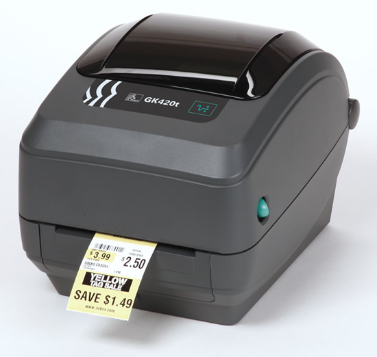 Impresora De Etiquetas De C 243 Digos De Barras Zebra Gk420t