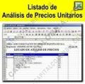 Herramientas de Productividad, Marca: CapitalColombia - Análisis de precios unitarios - Plantilla en formato Excel
