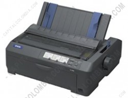 Ampliar foto de Impresora Epson FX-890 color negro