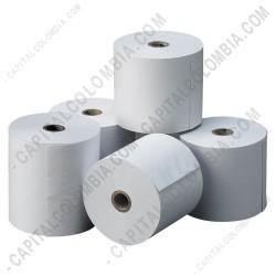 Ampliar foto de Rollos de papel térmico de 80mm X 60mts X 10 unidades