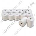 Rollos de papel para impresoras POS, Marca: CapitalColombia - Rollos de papel térmico de 80mm X 60mts X 50 unidades