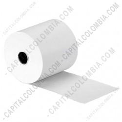 Ampliar foto de Rollos de papel bond de 76mm X 40mts X 12 unidades
