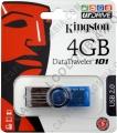 Discos duros externos, de estado sólido, Memorias USB, Kingston, Marca: Kingston - Memoria USB Kingston de 4GB (DT101G2)