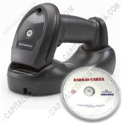 Ampliar foto de Combo Lector de código de barras inalámbrico Motorola LI4278 y Software BarrasCarta