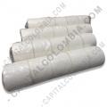 Rollos de etiquetas adhesivas y Nylon Textil, Marca: CapitalColombia - Rollo de etiquetas en papel térmico de 5.000 rótulos a una columna (4cms x 4cms)