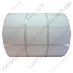 Ampliar foto de Rollo de etiquetas en papel de transferencia de 5.000 rótulos a tres columnas (3.2cms x 2.5cms)
