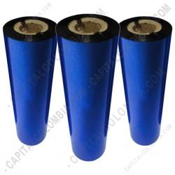 Ampliar foto de Tres (3) rollos de cera de 110mm x 74 mts (Outside)