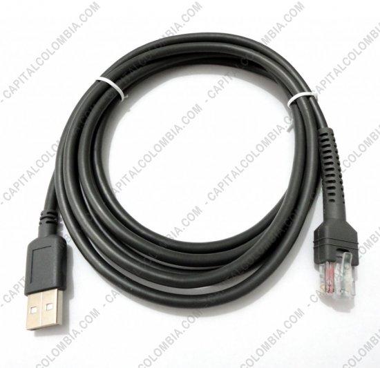 Lectores de Códigos de Barras, Marca: Motorola - Cable USB para Lector de código de barras LS1203, LS2208, LS4278, LI4278