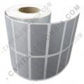Ampliar foto de Rollo de etiquetas metalizadas de 5.000 rótulos a dos columnas (4.0cms x 1.7cms)