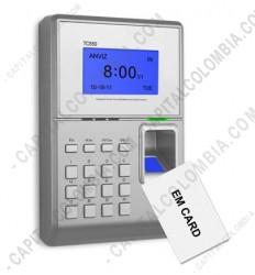 Ampliar foto de Control de Acceso Biométrico Anviz TC550