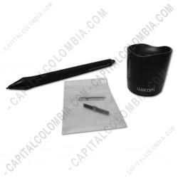 Ampliar foto de Lápiz para tabla digitalizadora Intuos 4, Intuos 5, Intuos Pro, Cintiq 13 HD, Cintiq 21, Cintiq 22, Cintiq 24HD, Cintiq Companion - Grip Pen (KP501E2)