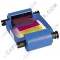 Cinta para impresora Zebra de 5 paneles de color para 100 impresiones (Ref. 800015-240)