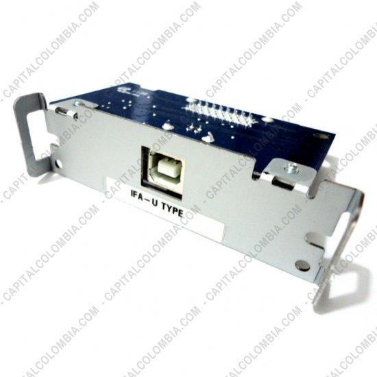 Impresoras para puntos de ventas POS, Marca: Bixolon - Puerto USB (MOD IFA-U) para impresoras Bixolon SRP-270 Y SRP-350