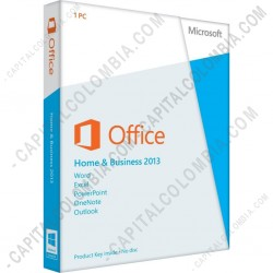 Capital colombia licencia de microsoft office home and - Windows office home and business 2013 ...