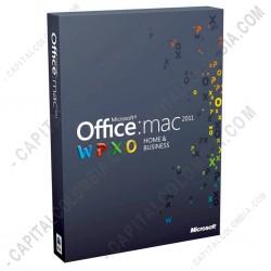 Ampliar foto de Licencia de Microsoft Office Home and Business 2013, en caja con DVD de instalación 32bits y 64bits para Mac