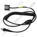 Ampliar foto de Cable Serial (RS232) para Lector de Código de Barras marca Honeywell Xenon 1900/1200G/1300G