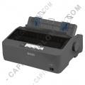 Impresora Epson LX-350 color negro (Puerto USB, Serial y Paralelo) (Reemplaza la LX-300L+II)