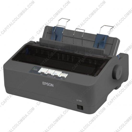 Impresoras, Cámaras, Escáners, Televisores, Video Proyectores, Memorias, Cables, Accesorios, Marca: Epson - Impresora Epson LX-350 color negro (Puerto USB, Serial y Paralelo) (Reemplaza la LX-300L+II)