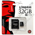 Discos duros externos, de estado sólido, Memorias USB, Kingston, Marca: Kingston - Memoria Kingston Micro SD 32GB Micro con Adaptador SD