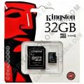 Ampliar foto de Memoria Kingston Micro SD 32GB Micro con Adaptador SD