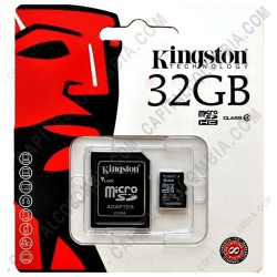 Ampliar foto de Memoria Kingston Micro SD 32GB Micro con Adaptador SD