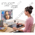 Tableta Wacom Intuos Pro Touch Large (PTH851 L) - (Reemplaza al modelo Intuos 5 Touch Large PTH850 L)