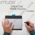 Tableta Wacom Intuos Creative Pen & Touch Small (CTH480 L) - (Reemplaza al modelo Bamboo Capture CTH470 L)