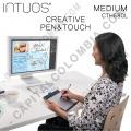 Tableta Wacom Intuos Creative Pen & Touch Medium (CTH680 L) - (Reemplaza al modelo Bamboo Create CTH670 L)