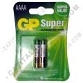 Pila AAAA Super Alkaline Battery - Paquete de dos (2) baterías (Ref. 4A)
