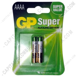 Ampliar foto de Pila AAAA Super Alkaline Battery - Paquete de dos (2) baterías (Ref. 4A)