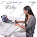 Tableta Wacom Intuos Manga Creative Pen & Touch Small (CTH480SL)