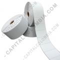 Rollos de etiquetas adhesivas y Nylon Textil, Marca:  - Rollos de 5.000 etiquetas en polipropileno color blanco de seguridad (void) de 5cms x 2.5cms a una columna