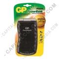 Cargador Universal de Pilas GP para baterías tipo AA, AAA, D, C, 9V