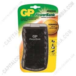 Ampliar foto de Cargador Universal de Pilas GP para baterías tipo AA, AAA, D, C, 9V