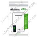Ampliar foto de Cargador Portátil de Celular GP PowerBank 4000 mAh UltraSlim