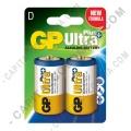 Ampliar foto de Pila Alkalina UltraPlus Battery D - Paquete de dos (2) baterías