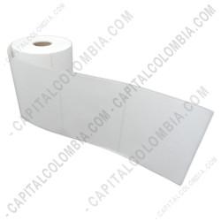 Ampliar foto de Rollo de etiquetas de transferencia (bond) de 500 rótulos a una columna (10cms x 8.2cms)