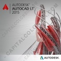 Licencia de Autocad para Windows LT 2015 Commercial New SLM