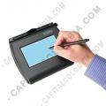 Tabla Digitalizadora de Firmas Topaz SigLite LCD 4x3 y Backlight - USB-Serial - T-LBK750-BHSB-R