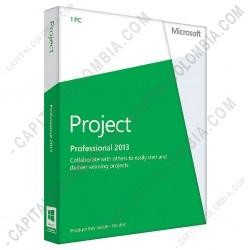 Ampliar foto de Licencia de Microsoft Office Project Professional 2013