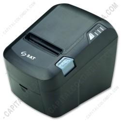Ampliar foto de Impresora Térmica SAT 30T (USB + WIFI) (Red Inalámbrica)