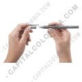 Tablas Digitalizadoras Wacom, Marca: Wacom - Lápiz Bamboo Stylus Fineline para IPAD3 (o superior) sensible a la presión color negro con gris (Ref. CS600CK)
