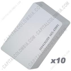 Ampliar foto de Tarjeta de Proximidad EM ID Card ISO (Thick/thin) 125Khz (10 Unidades)