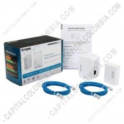 Ampliar foto de Kit Expansor de Red Wifi/Lan a través de Red Electrica - PowerLine AV 500 Wireless N Mini Starter Kit