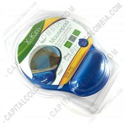 Ampliar foto de Mousepad Gel en Silicona color Azul