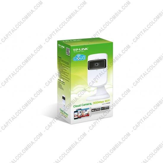 Redes, Routers, Wifi, Marca: Tp-link - Camara IP Cluoud Con Tragaluz, Conectividad inalámbrica de 300Mbps estable y rápido (NC200)