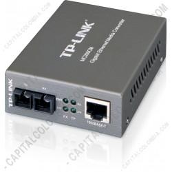 Ampliar foto de Convertidor Multimedia Multi-modo Gigabit (MC200CM)