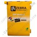 Cinta para impresora Zebra de 6 paneles de color para 230 impresiones (Ref. 800033-348)
