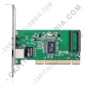Ampliar foto de Tarjeta de Red Gigabit PCI 10/100/1000Mbps PCI Adapter (TG-3269)