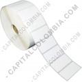 Ampliar foto de Rollo de etiquetas en papel térmico de 2.500 rótulos a una columna (5.01cms x 2.5cms)